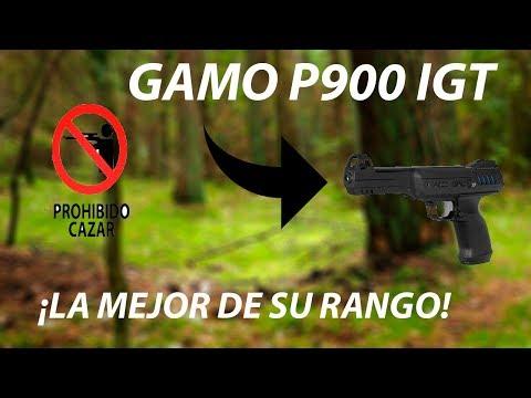 ¡LA MEJOR PISTOLA DE DIABOLOS! // GAMO P900 IGT