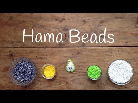Esta pera hecha con hama beads... ¡es la pera limonera!