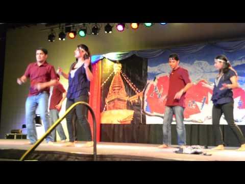 SDSU Nepal Nite 2013 - Part 3 kati baschau, Maya basyo mutuma, Gangnam style