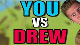 YOU VS DREW Totally Accurate Battle Simulator Closed Alpha TABS Sandbox Gameplay