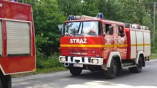 Pożar Lasu Kuźnia Raciborska , Alarmowo Cała Gmina !
