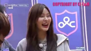 [中字]Idol School Ep10 李詩安被弟弟戳肚子:真的瘦了 感情超好的兩姐弟