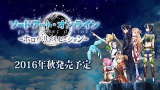 PS4/PS Vita「ソードアート・オンライン ―ホロウ・リアリゼーション―」第2弾PV thumbnail