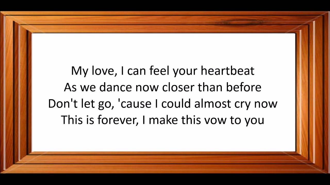 Ronan Keating This I Promise You Lyrics