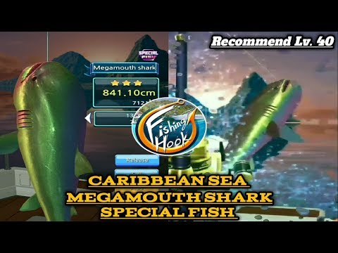 Megamouth shark - caribbean sea (SPESIAL) kail pancing / fishing hook