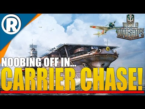 world-of-warships:-x2-carrier-chase