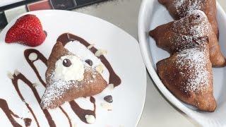 Chocolate Samosa Sweet Dessert Recipe By Bhavna