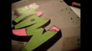Graffiti speed art Max