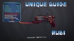 Borderlands 2 Unique Weapon Guide: Rubi
