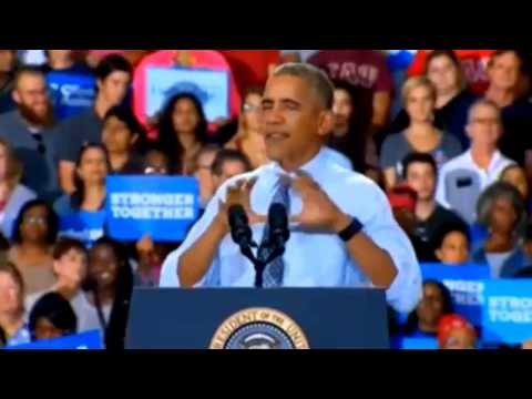 President Obama's Ohio Campaign Rally For Hillary Clinton