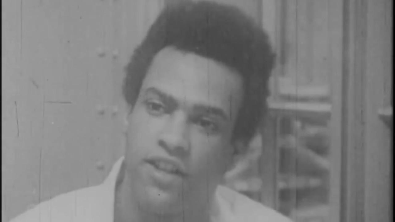 Huey Newton speaking on police in the black community