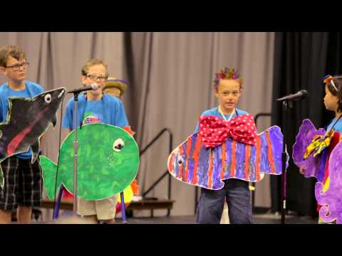 Go Fish! Musical performance by Camp Bravo at Shriners Hospitals for Children - Twin Cities