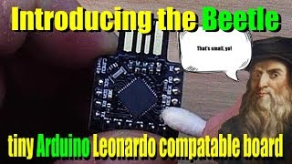 The Beetle Arduino compatable board from ICStation com review