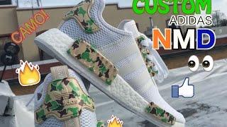 How To: Custom Adidas NMD R1 Camo