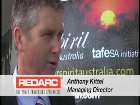 Redarc Advocates Solar Spirit Australia