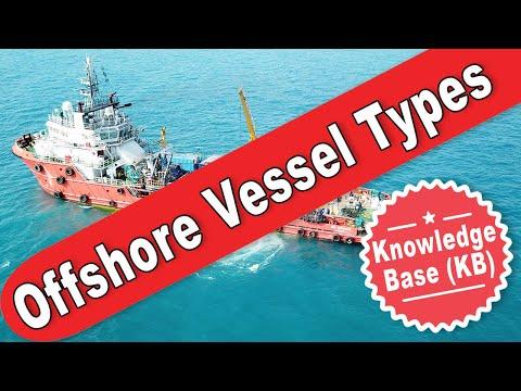 Offshore Vessel Types