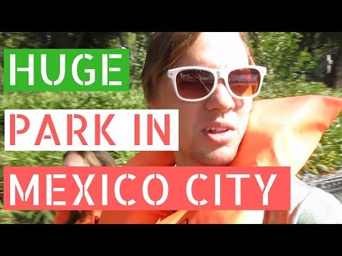 HUGE Park in Mexico City! (Chapultepec) // Gringos in Mexico City Vlog