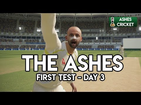 NICE GARRY - First Test - Day 3 (Ashes Cricket Game)