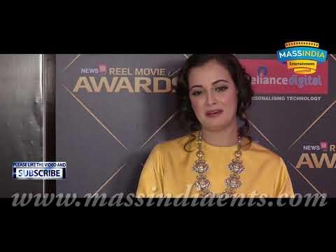 Dia Mirza At REEL Movie Awards 2018