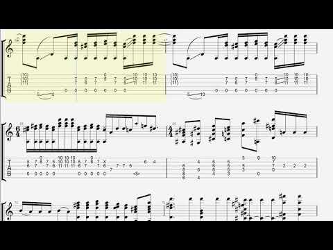 Bohemian Rhapsody - Fingerstyle Guitar TAB