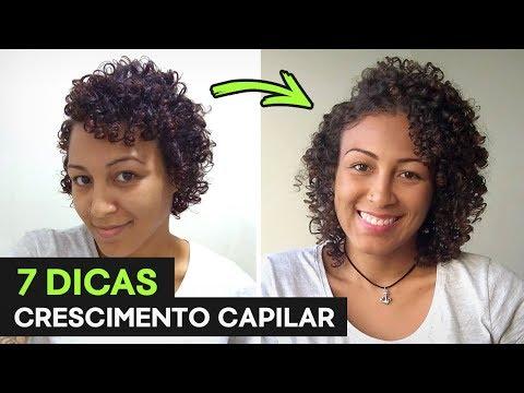 7 DICAS pro CABELO CRESCER MAIS RÁPIDO! #ProjetoRapunzel