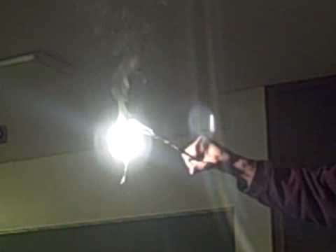 Combustion Of Magnesium