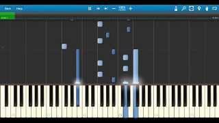 Zedd - Papercut feat. Troye Sivan: Synthesia Piano Tutorial