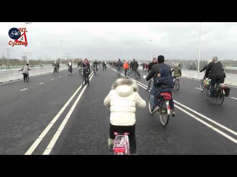 New bridge in Nijmegen (Netherlands)