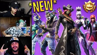 Streamers React to *NEW* Season 6 Battle Pass & Trailer! | Fortnite Highlights & Funny Moments