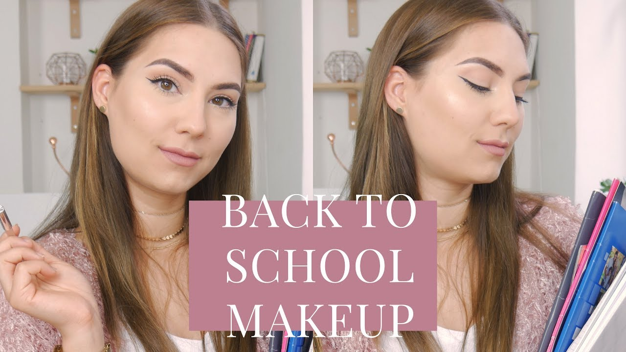 Makijaż do szkoły w 15min | kosmetyki poniżej 30/20zł