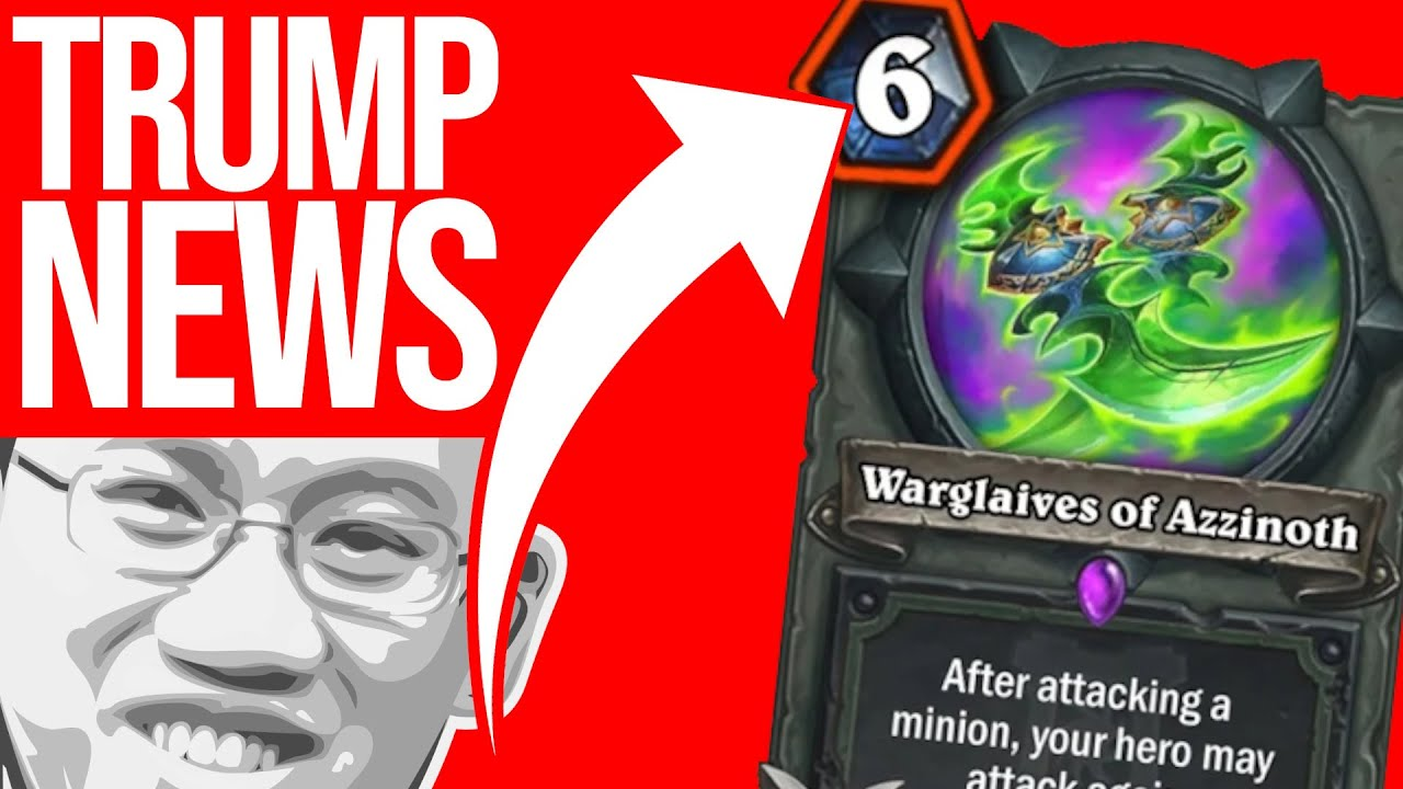 Demon Hunter Nerfs Never Stop! | Trump News | Hearthstone