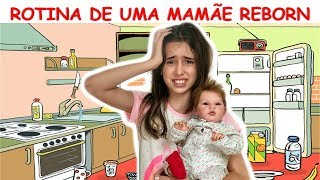 ROTINA DE UMA MAMÃE REBORN CANSADA - MANHÃ!