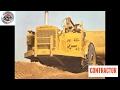 Classic Earthmovers: The Caterpillar DW21 2-axle scraper