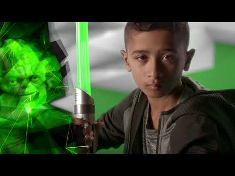 Star Wars Lightsaber Academy Interactive Battle Lightsaber