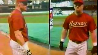 MLB ON FOX PREGAME AND GAME OPEN 2001 AA VS, CLE