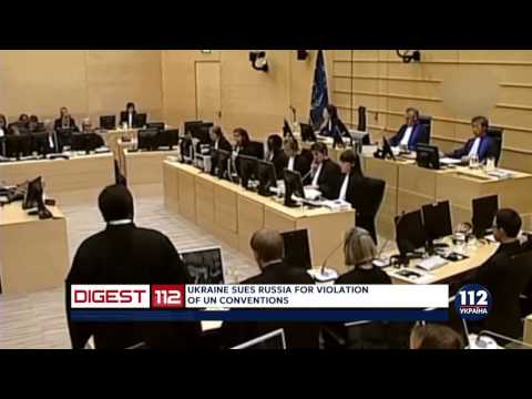 Ukraine files terrorism case against Russia to the Hague tribunal.