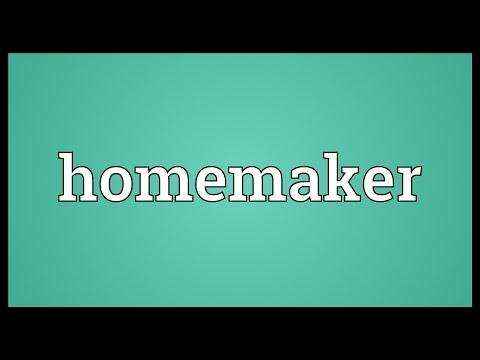 Homemaker Meaning
