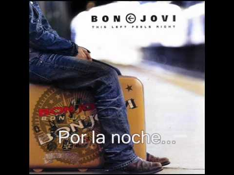 The Distance Live - Bon Jovi - This Lefts Feels Right - Subtitulada