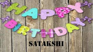 Satakshi   Birthday Wishes