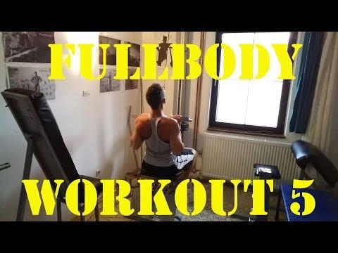 Fullbody workout 5 - Trening za celo telo 5 - 02.08.2018.