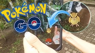 CAPTURANDO POKEMONS EN LA VIDA REAL !! - Pokemon GO | Fernanfloo