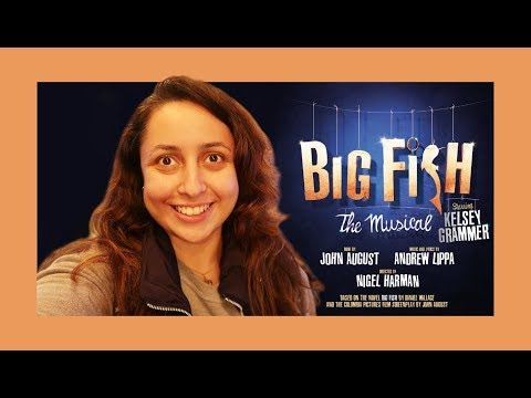 Big Fish the Musical - Vlog 2017