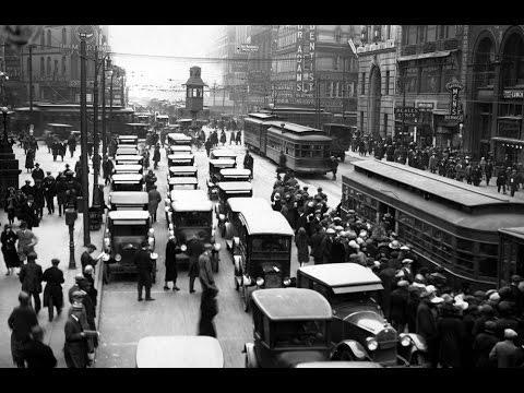 America in the 1910s & 1920s - Footage only - HD