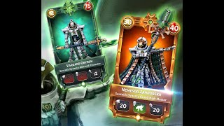 Warhammer Combat Cards Warlord: Nemesor Zahndrekh