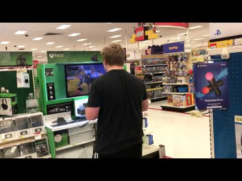 KID RAGES AT VIDEO GAMES IN WALMART!!!