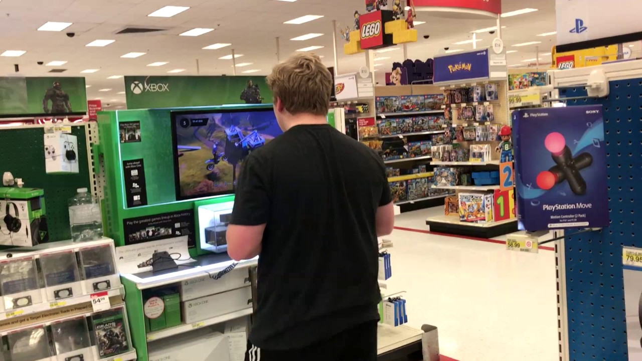 Kid Rages At Video Games In Walmart Youtube