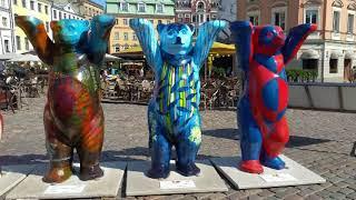 Берлинские медведи Бадди 149 шт Рига 2018