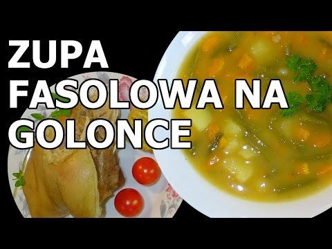 Letnia Zupa Fasolowa Na Golonce Youtube