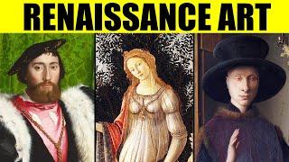Картины эпохи Возрождения - 100 Великих примеров искусства раннего, высокого Возрождения, маньеризма