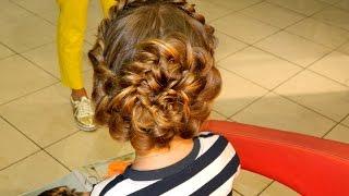 Плетение косичек детям. Урок 1. How to do braiding. Мастер-класс